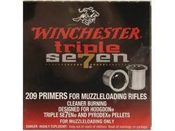 Winchester Triple Seven Primers #209 Muzzleloading Case of 2000 (4 Boxes of 500)