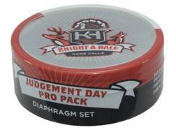 Knight & Hale Judgment Day Pro Pack Diaphragm Turkey Call 3 Pack