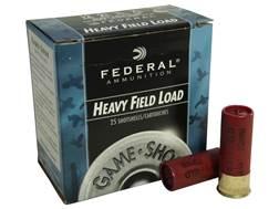 "Federal Field-Shok Heavy Game Load Ammunition 12 Gauge 2-3/4"" 1-1/4 oz #7-1/2 Shot Box of 25"