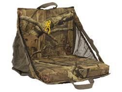 Browning Tracker XT Padded Ground Seat Camo