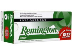 Remington UMC Ammunition 223 Remington 55 Grain Full Metal Jacket