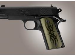 Hogue Extreme Series Grip 1911 Officer Tribal Aluminum