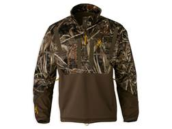 Browning Men's Wicked Wing Timber Soft Shell 1/4 Zip Hoodie Realtree Max-5 Camo