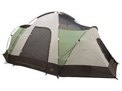 "ALPS Mountaineering Meramac Three-Room Tent with Floor Saver 10' x 16' x 6'2"" Polyester Green and..."