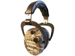 Pro Ears Stalker Gold Electronic Earmuffs (NRR 25 dB) Realtree Max-4 Camo