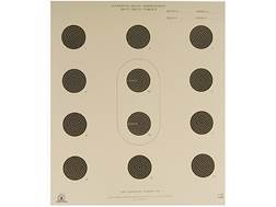 NRA Official Smallbore Rifle Targets A-36 50' 3 Postion Paper Pack of 100