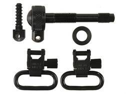 "Uncle Mike's Quick Detachable Sling Swivel Set Remington 7400, (Model) Four 1"" Black"