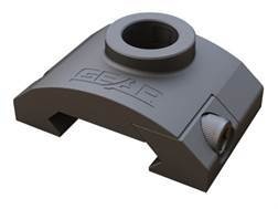 Gear Sector Rail Mount Quick Detach Sling Swivel Socket Adapter AR-15 Aluminum Black