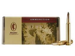 Nosler Custom Ammunition 340 Weatherby Magnum 250 Grain Partition Spitzer Box of 20