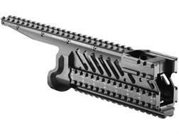Mako 6-Rail Integrated Rail System Micro Galil Aluminum Black