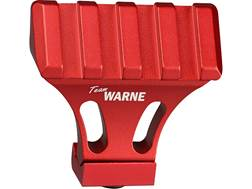 Warne 45 Degree Offset Picatinny Side Mount Adapter Aluminum Team Warne Red