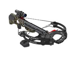 Barnett Ghost 410 CRT Crossbow Package with Illuminated Scope Mossy Oak Treestand Camo