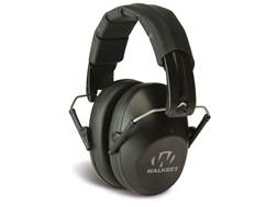 Walker's Pro-Low Profile Folding Earmuffs (NRR 31 dB) Black