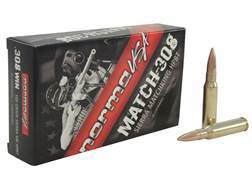 Norma USA Match Ammunition 308 Winchester 168 Grain Sierra MatchKing Hollow Point Boat Tail