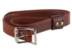"""Hunter 27-53 Rifle Scabbard Replacement Saddle Strap 3/4"""" x 23"""" Leather"""
