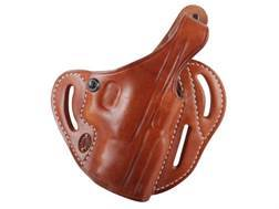 "El Paso Saddlery Dual Duty 3 Slot Outside the Waistband Holster Right Hand Springfield XD 9mm, 40 S&W 4"" Leather Russet Brown"