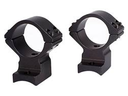 "Talley Lightweight 2-Piece Scope Mounts with Integral 1"" Rings Remington Model 7, 600 Matte High"
