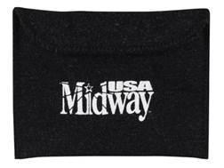 """MidwayUSA Silicone-Treated Pistol Gun Case Dark Gray 6"""""""
