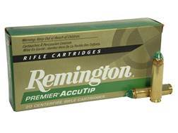 Remington Premier Ammunition 450 Bushmaster 260 Grain AccuTip Boat Tail Box of 20