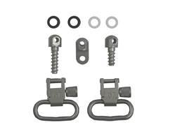 "GrovTec Sling Swivel Set Ruger 10/22, 44 Magnum Carbine, Number 3 Sling Swivel Studs 1"" Locking Swivels Steel Satin Nickel"