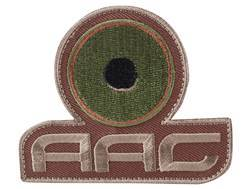 Advanced Armament Co (AAC) Stacked Logo Patch Hook-&-Loop Fastener Tan