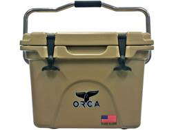 Orca 20 Qt Rotomold Cooler Tan