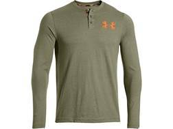 Under Armour Men's Borderland Henley Shirt Long Sleeve Polyester