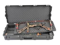 "SKB iSeries 4217 MIL-Spec Double Bow/Quad Rifle Case with Wheels 41"" Polymer"