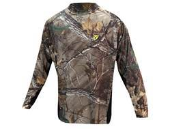 ScentBlocker Men's 8th Layer T-Shirt Long Sleeve Polyester Realtree Xtra Camo 2XL 50-52