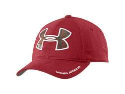 Under Armour Caliber Cap Polyester Daredevil Red and Mossy Oak Treestand