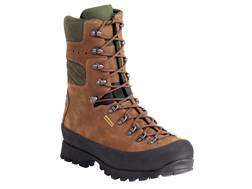 "Kenetrek Mountain Extremes 10"" Waterproof 400 Gram Insulated Hunting Boots Leather and Nylon Brown Mens 15 Med"
