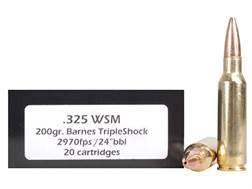 Doubletap Ammunition 325 Winchester Short Magnum (WSM) 200 Grain Barnes Triple-Shock X Bullet Lead-Free Box of 20