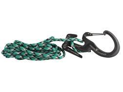 Nite Ize Figure 9 Rope Tightener Carabiner Large Black with Cord