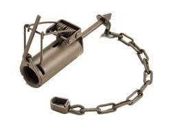 Duke DP Coon Trap Steel Silver- Blemished