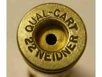 Quality Cartridge Reloading Brass 22 Neidner Rimmed Box of 20