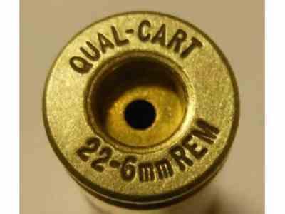 Quality Cartridge Reloading Brass 22-6mm Remington Box of 20