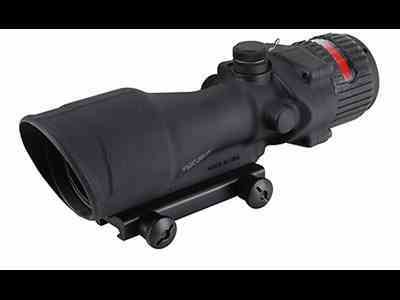 Trijicon ACOG TA648 BAC Rifle Scope 6x 48mm Dual-Illuminated Red Chevron 223 Remington ...