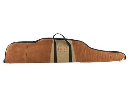 Hunter Scoped Rifle Gun Case Suede-Leather