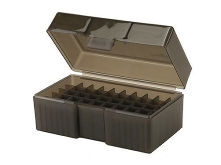 Frankford Arsenal Flip-Top Ammo Box #512 22 BR (Bench Rest), 6.8 Remington SPC, 7.62x39mm Russian 50-Round Plastic