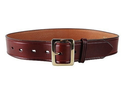 "Don Hume B109 Holster Belt 1-1/2"" Brass Buckle Leather"