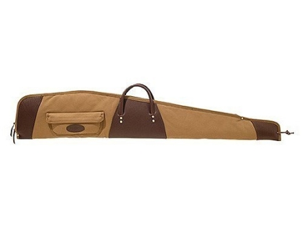 Boyt Boundary Lakes Scoped Rifle Gun Case with Pocket Canvas and Leather
