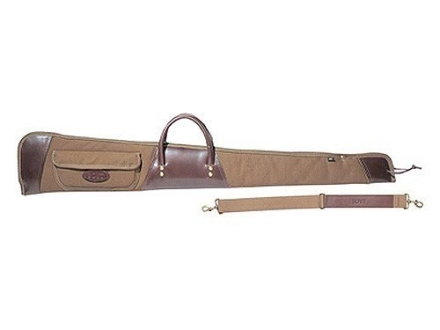 Boyt Boundary Lakes Shotgun Gun Case with Pocket Canvas and Leather