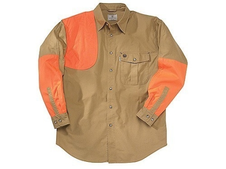 Beretta Mens Upland Heavy Duty Shooting Shirt Long Sleeve Cotton and Cordura