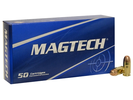Magtech Sport Ammunition 380 ACP 95 Grain Full Metal Jacket