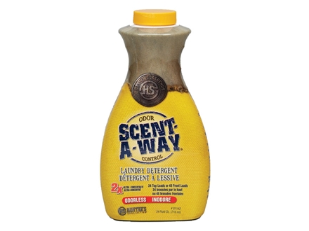 Hunter's Specialties Scent-A-Way Scent Elimination Laundry Detergent Odorless Liquid 24 oz