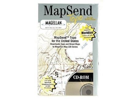 Magellan MapSend Topo United States CD-ROM