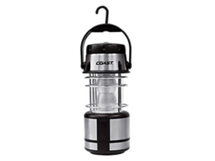 Coast EAL15 LED Lantern Red and White LED without Batteries (4 AA) Polymer Yellow and Black