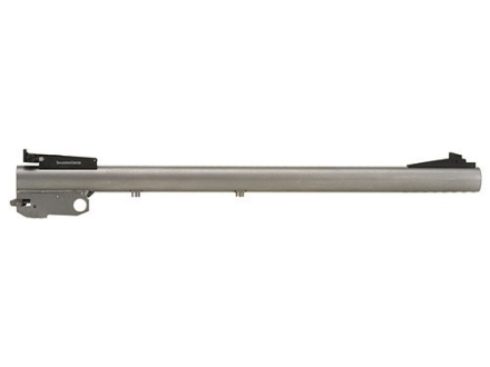 "Thompson Center Barrel Thompson Center Contender, G2 Contender 17 Hornady Magnum Rimfire (HMR) Medium Contour 1 in 10"" Twist 14"" Stainless Steel"