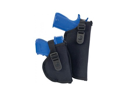 "Allen Cortez Thumb Break Belt Holster Right Hand Medium and Large Frame Auto 3.25"" to 5"" Barrel Nylon Black"