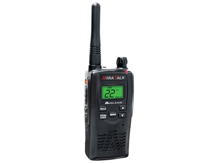 Midland GXT5000 Full Power Mil-Spec Two-Way Radio Black
